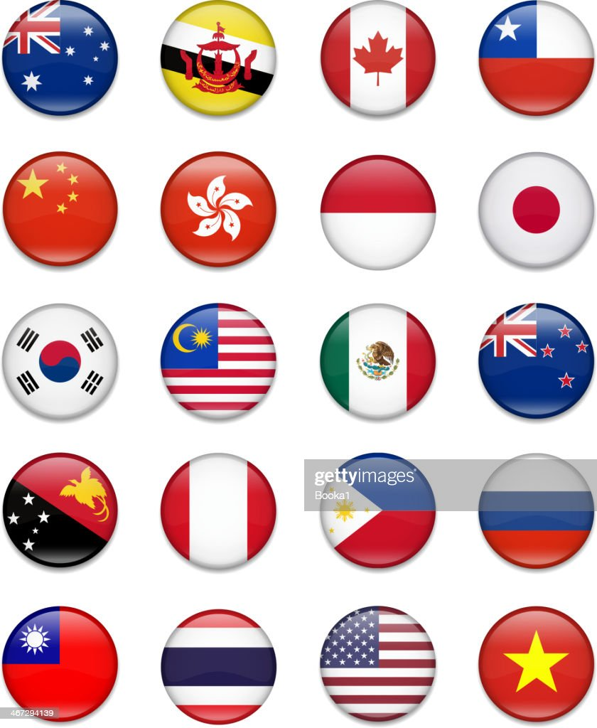 Asia-Pacific Economic Cooperation-Apec-Flag Collection