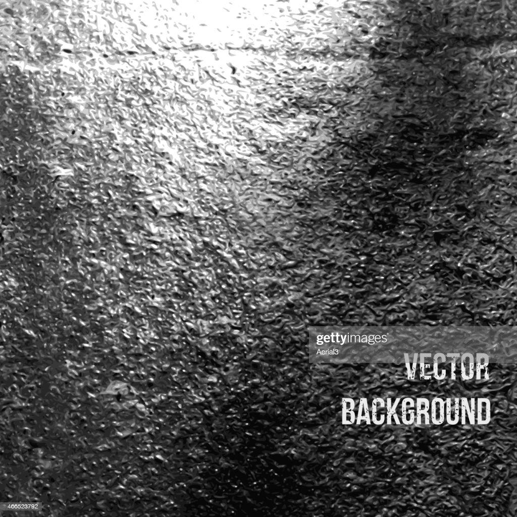 Asphalt as abstract background. Vector Illustration