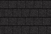 Asphalt roof shingles, seamless pattern