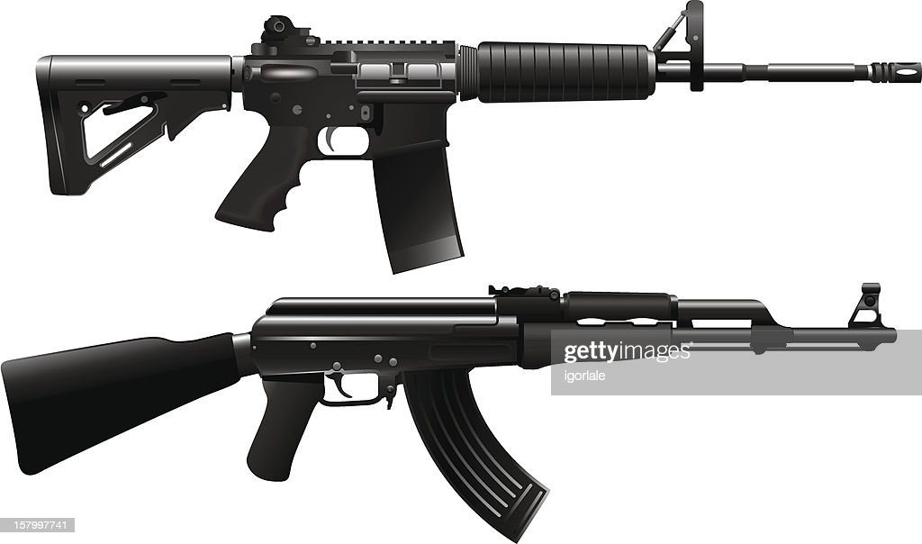 Assault rifle weapon