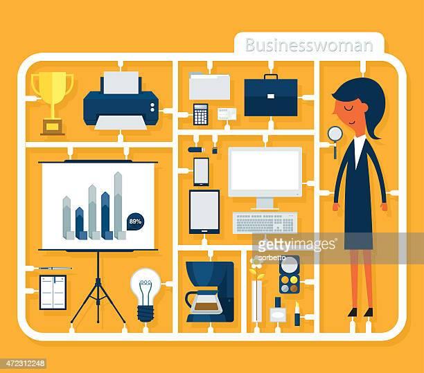 Assemble Businesswoman