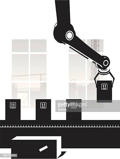 montage-linie - vertikal stock-grafiken, -clipart, -cartoons und -symbole