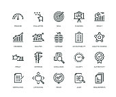 Assessment Icons - Line Series