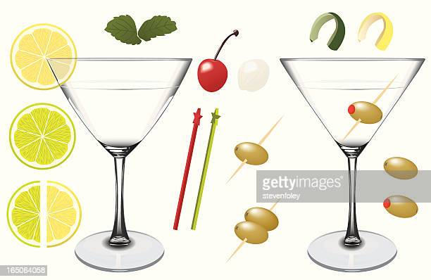 Assorted Martini Elements