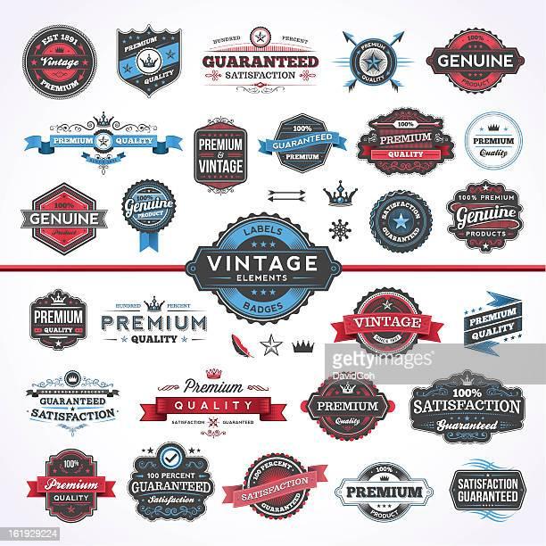 Assorted Vintage Elements - Set 1