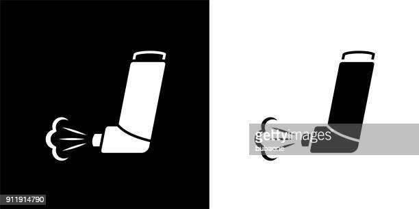 ilustrações de stock, clip art, desenhos animados e ícones de asthma inhaler. - bomba para asma