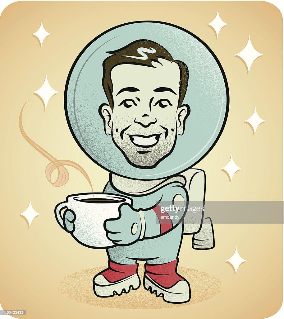 Astro Coffee stop : stock vector