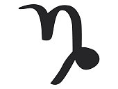 Astrological Sign of the Mountain Sea-goat (Capricorn)