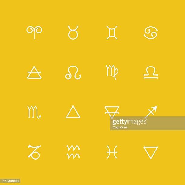 Astrologie icônes