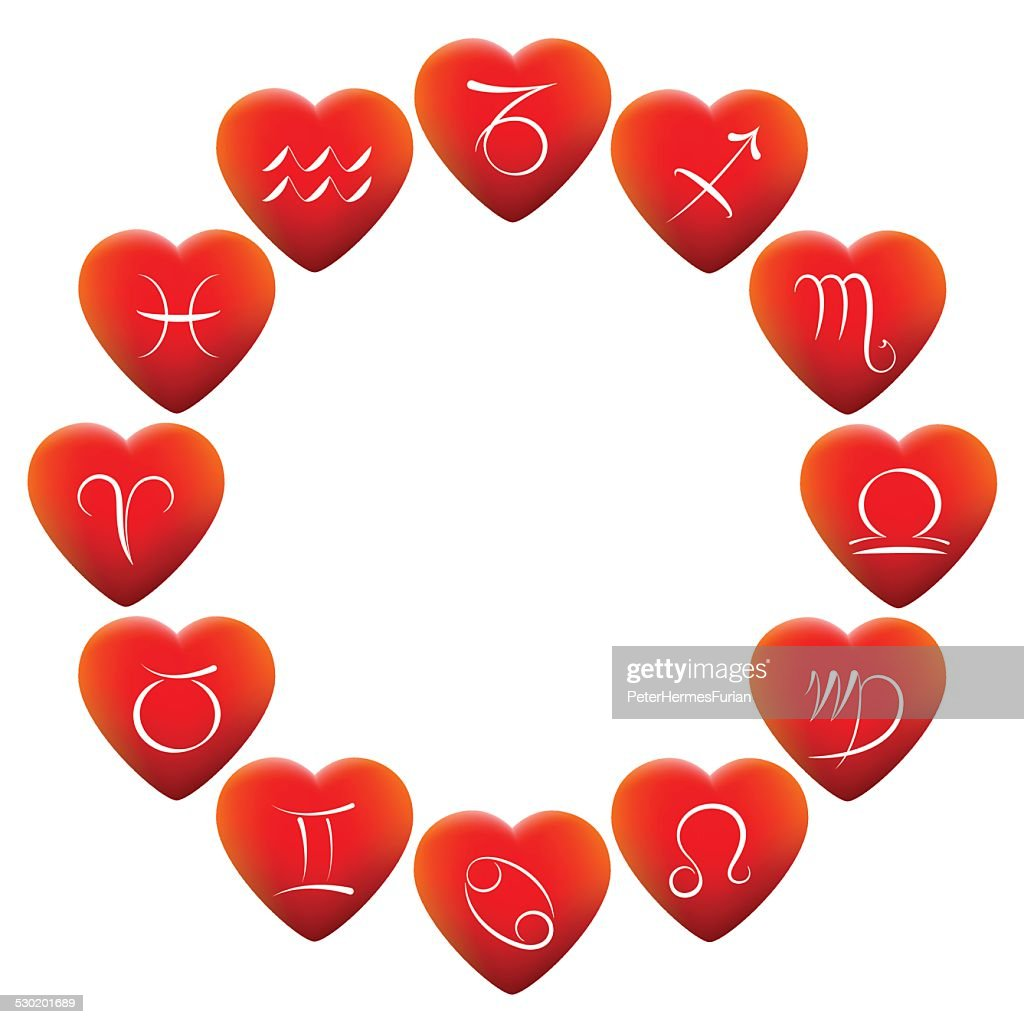 Astrology Signs Hearts