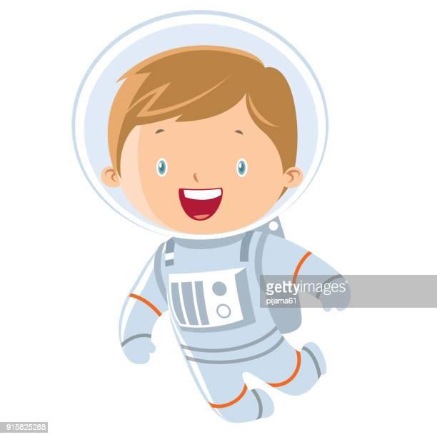 rapaz astronauta