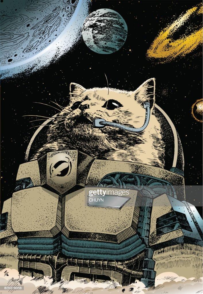 Astronaut : Vector Art