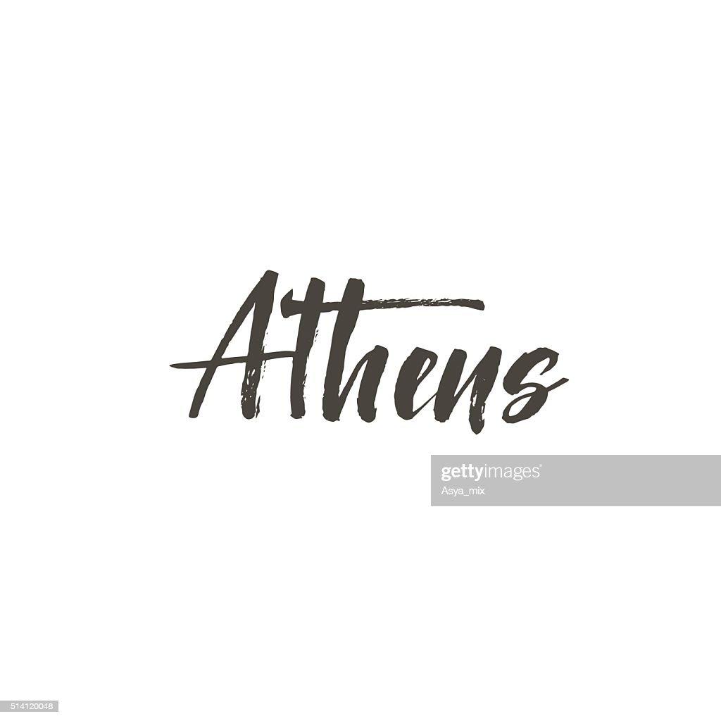 Athens card.