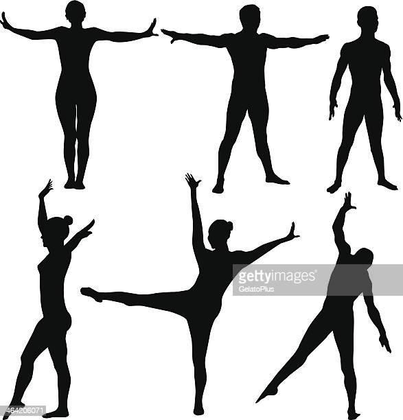 Athlete Body silhouette