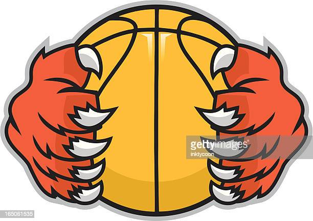 athletic paws - claw stock illustrations, clip art, cartoons, & icons
