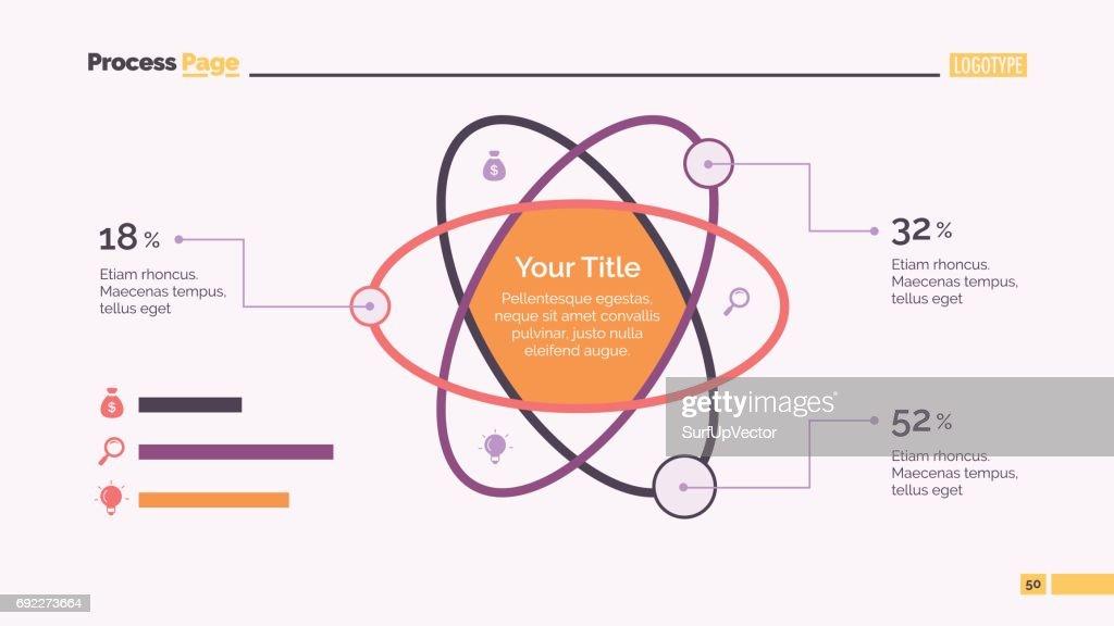 Atom Percentage Chart Slide Template