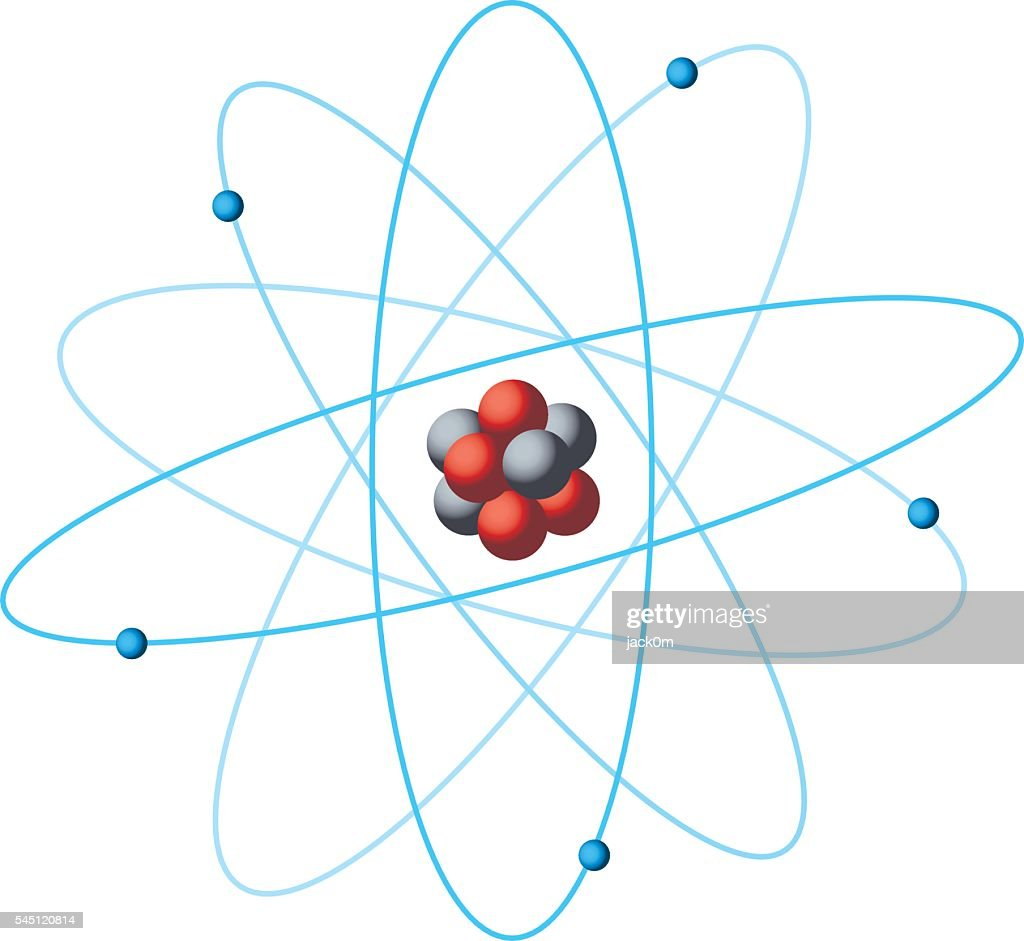 Atom structure diagram