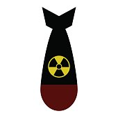Atomic Bomb Vector Isolated