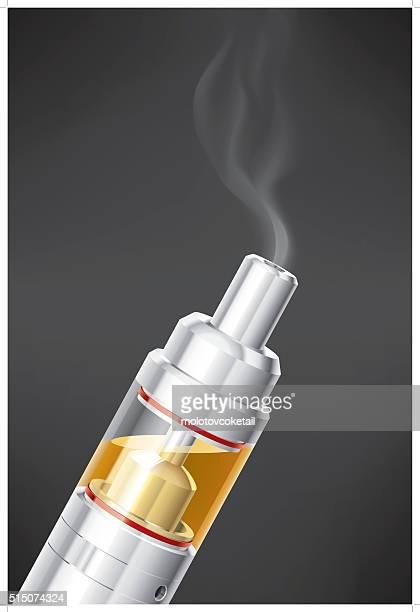atomizer - quitting smoking stock illustrations, clip art, cartoons, & icons