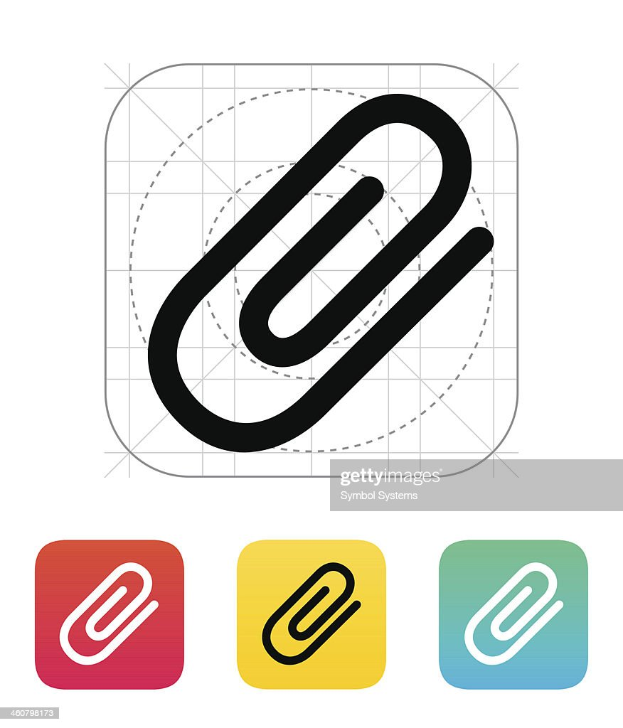 Attachment (Paper clip) icon.