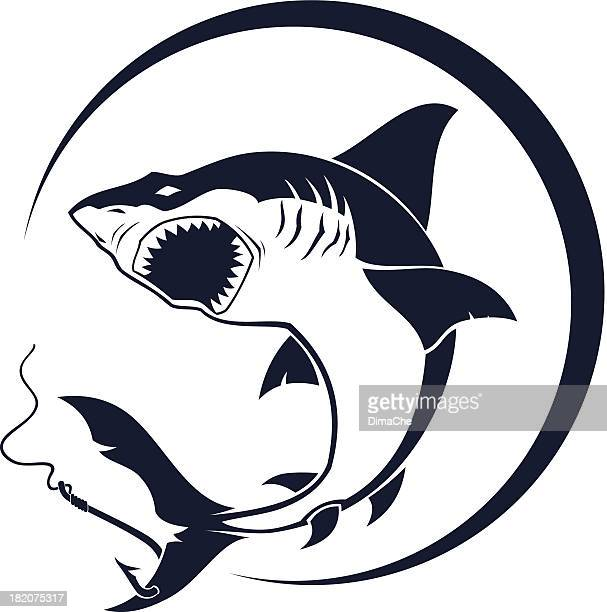 Atacando tiburón