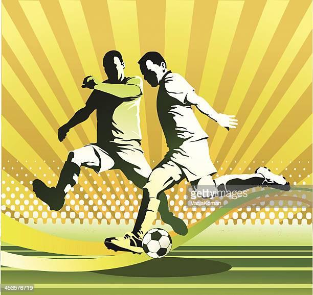 Attacking Soccer Player V Defender