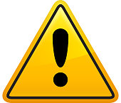 Attention Sign Icon Yellow Triangle