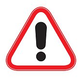 Attention Warning Sign- Vector