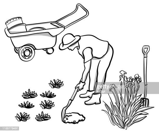 Aufmerksamer Gärtner
