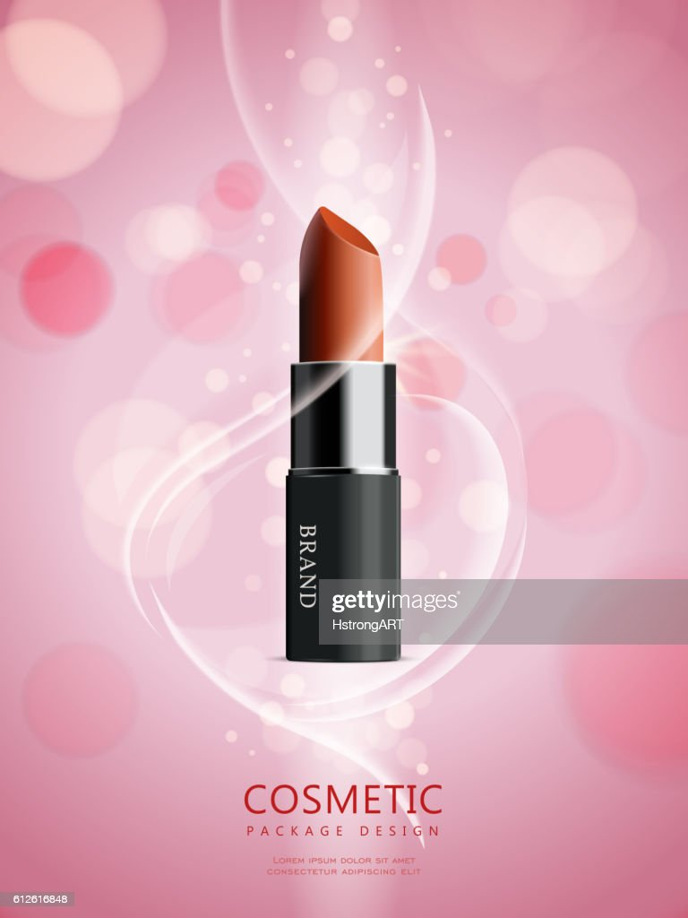 Attractive lipstick package design