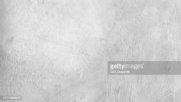 魅力的な現代の生と不均一なコンクリートの壁面 - 目に見える自然な刻印、テクスチャとモルタルの構造と手作りの灰色のテクスチャ - ベクトルストックイラスト - 布点のイラスト素材/クリップアート素材/マンガ素材/アイコン素材