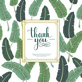 attractive thank you card design