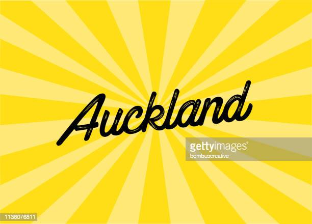 Auckland Lettering Design