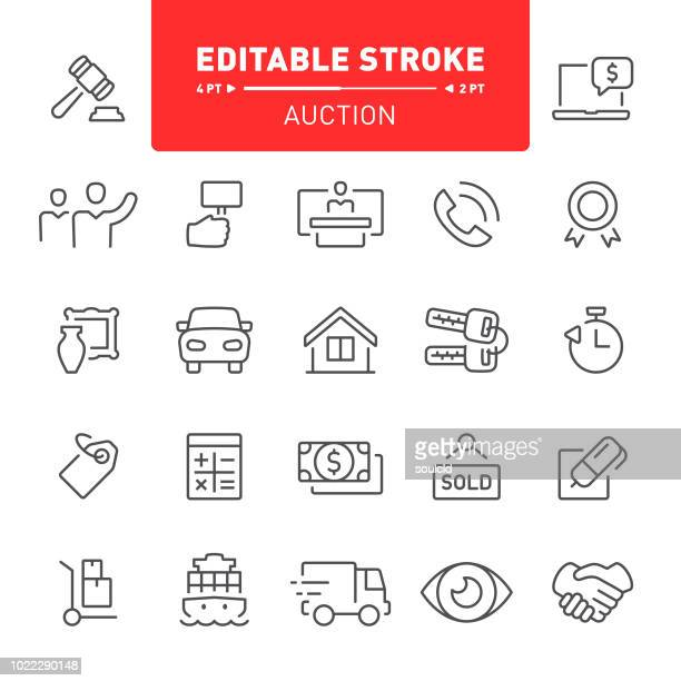 Auction Icons