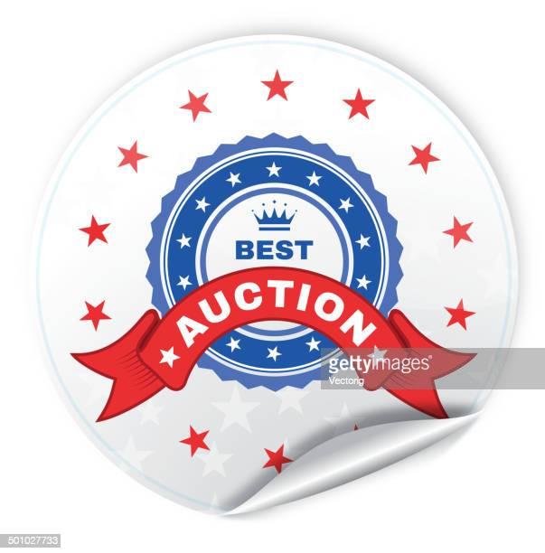 Auction Sticker