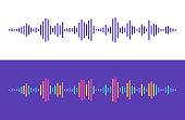 Audio Levels Lines