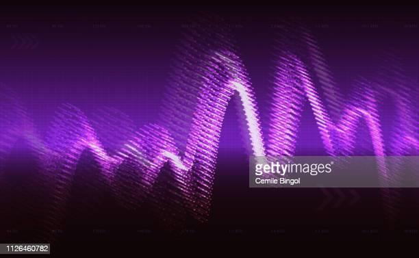 音声波のベクトルの背景 - リヒタースケール点のイラスト素材/クリップアート素材/マンガ素材/アイコン素材