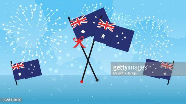 australia day special banner - australia day stock illustrations