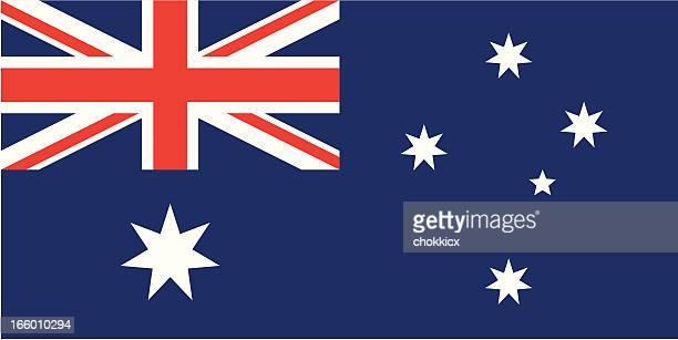 australia flag - australian flag stock illustrations