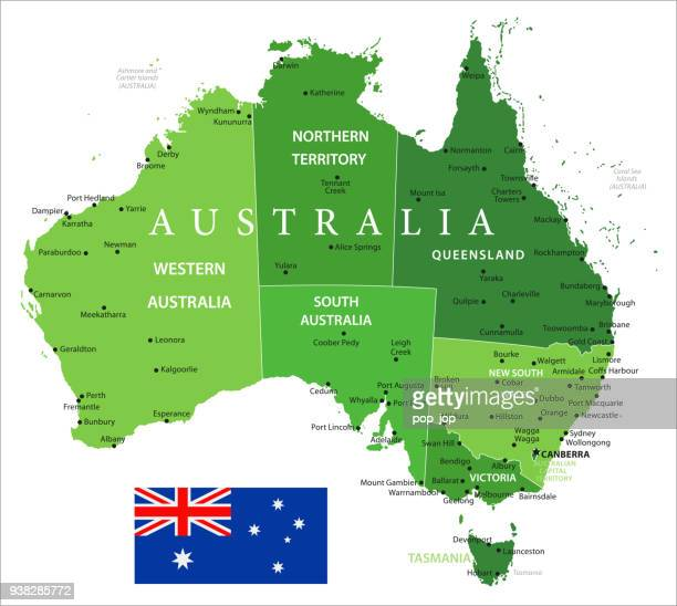 15 - Australia - Green Isolated 10
