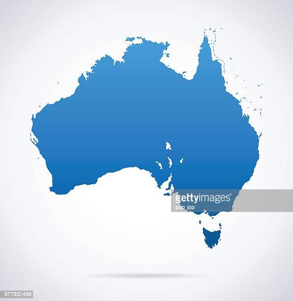 Austrália mapa
