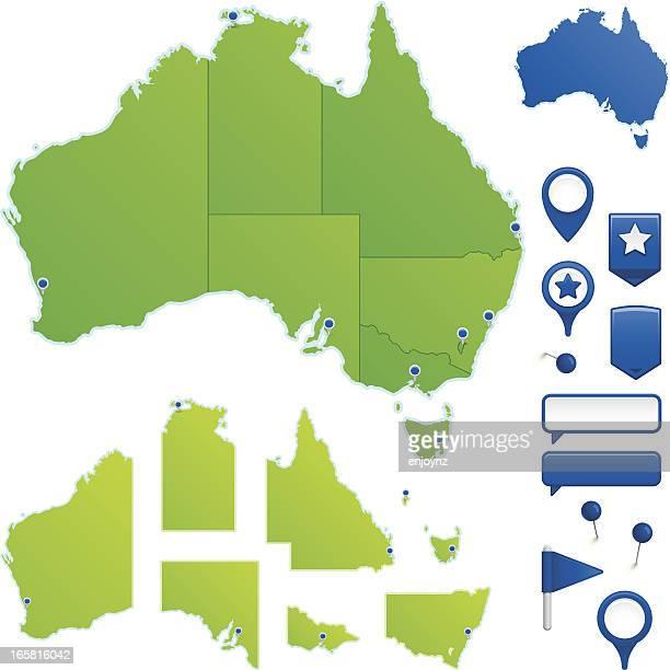 australia - australia stock illustrations