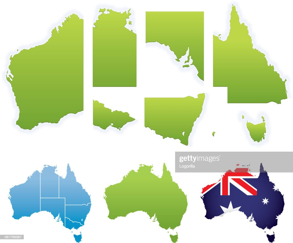 Australia Map Vector With States.60 Top Northern Territory Australia Stock Illustrations Clip Art