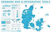 Austria Map - Info Graphic Vector Illustration