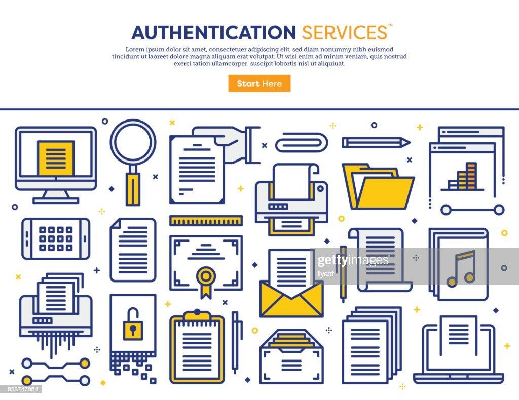 Authentication Services Concept