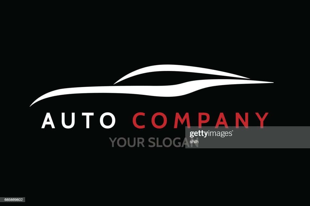 Auto car dealer emblem design