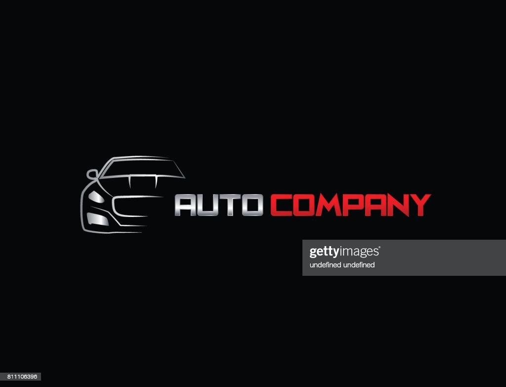 Auto car icon Template