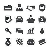 Auto Dealership Icons - Acme Series