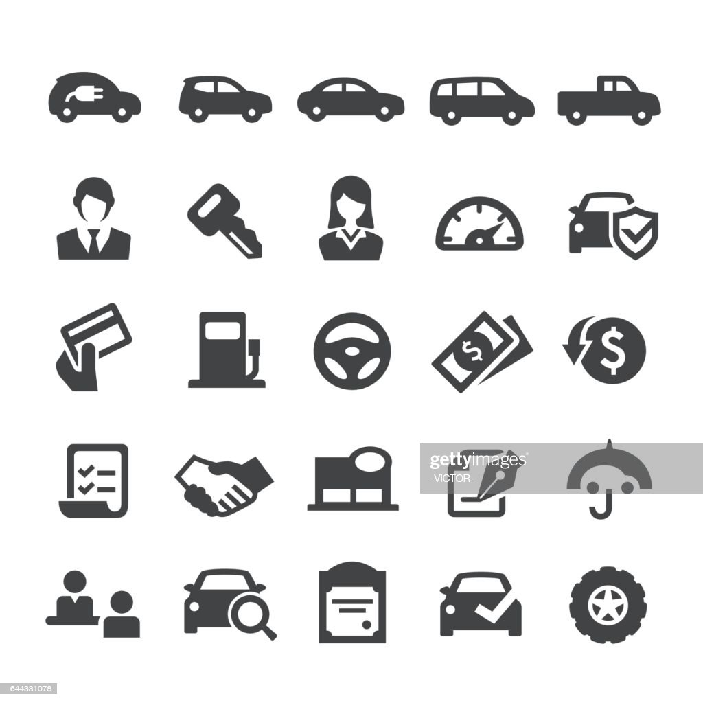 Auto Dealership Icons - Smart Series
