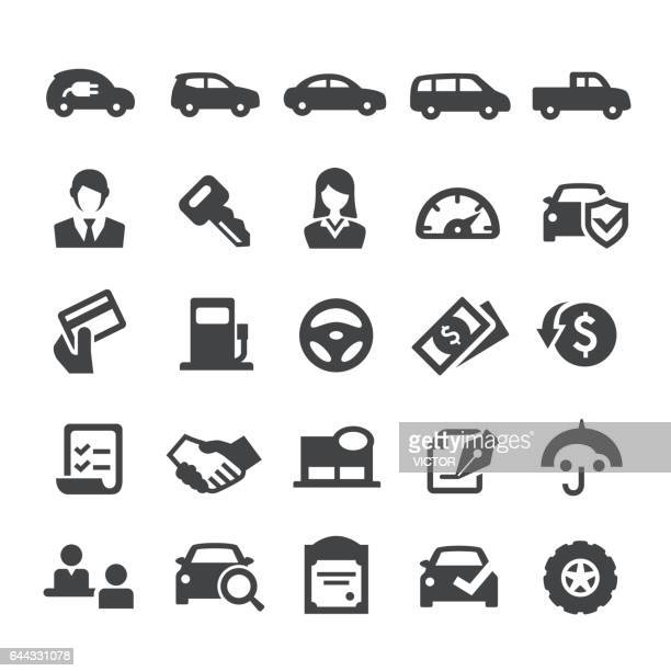 Auto Dealership Icons - Smart Series